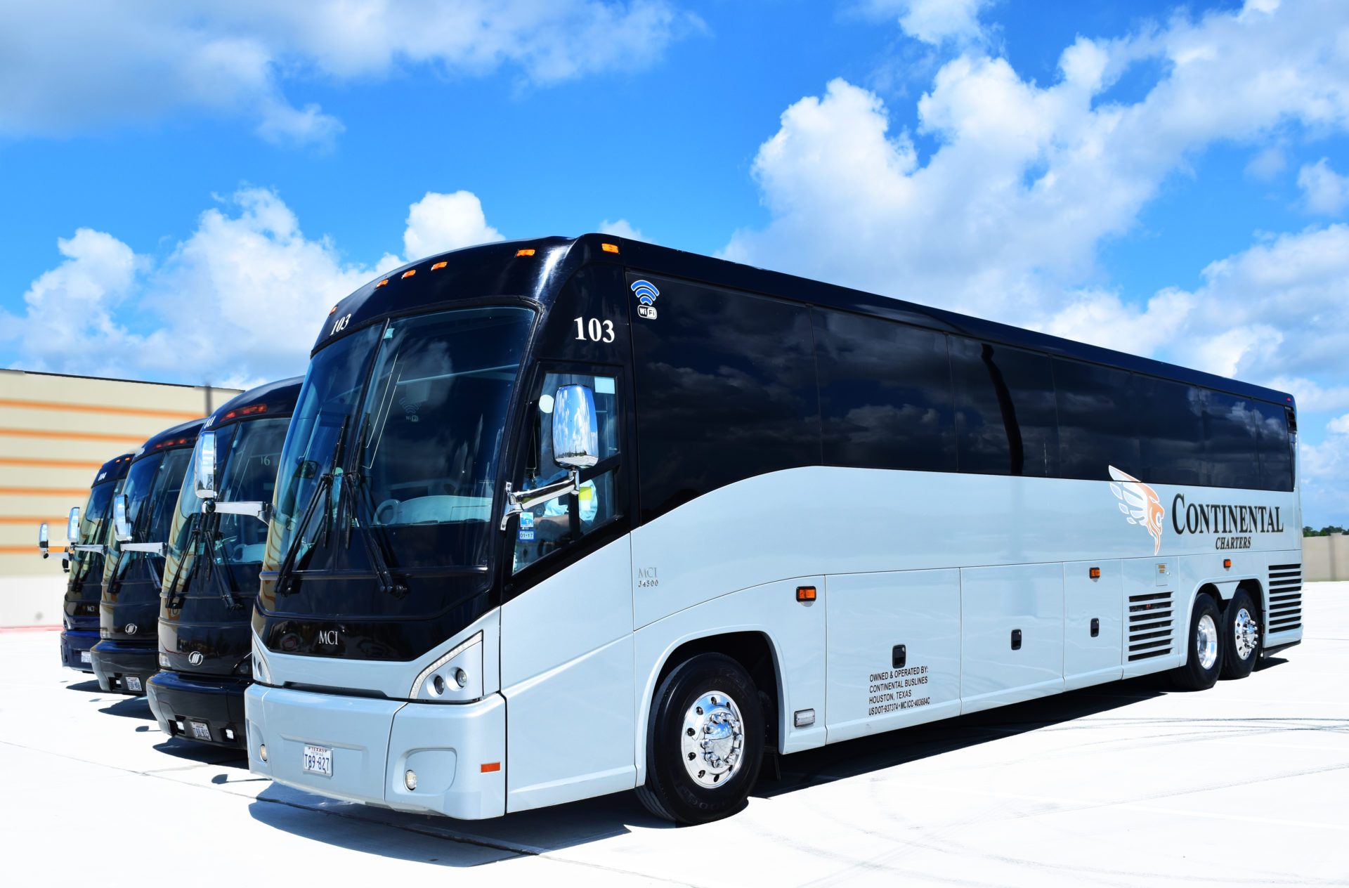 Houston Texas Bus Charters Group Academic Athletic
