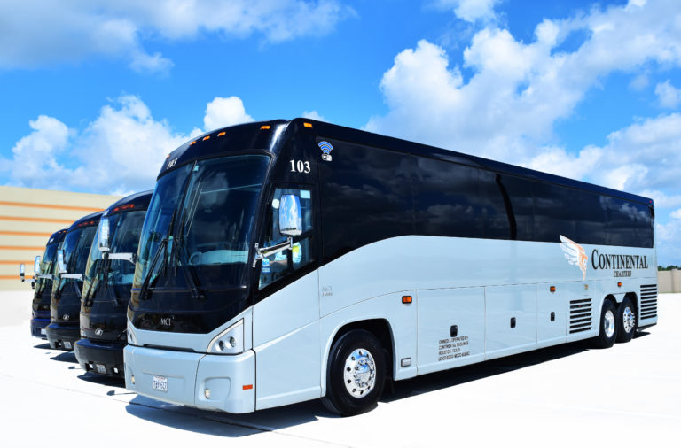 Houston, Texas Bus Charters - Group, Academic, Athletic
